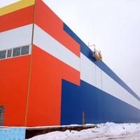 Завершение строительства складского комплекса в Лешково