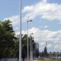 Опоры городского освещения с покрытием
