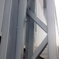 Металлокнструкции складского комплекса в Лешково