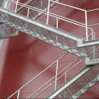 Пожарная лестница с антикоррозонным покрытием