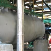 Поверхность резервуара с нанесенным антикоррозионным покрытием 2